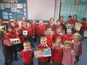 Verwood First School's homes project