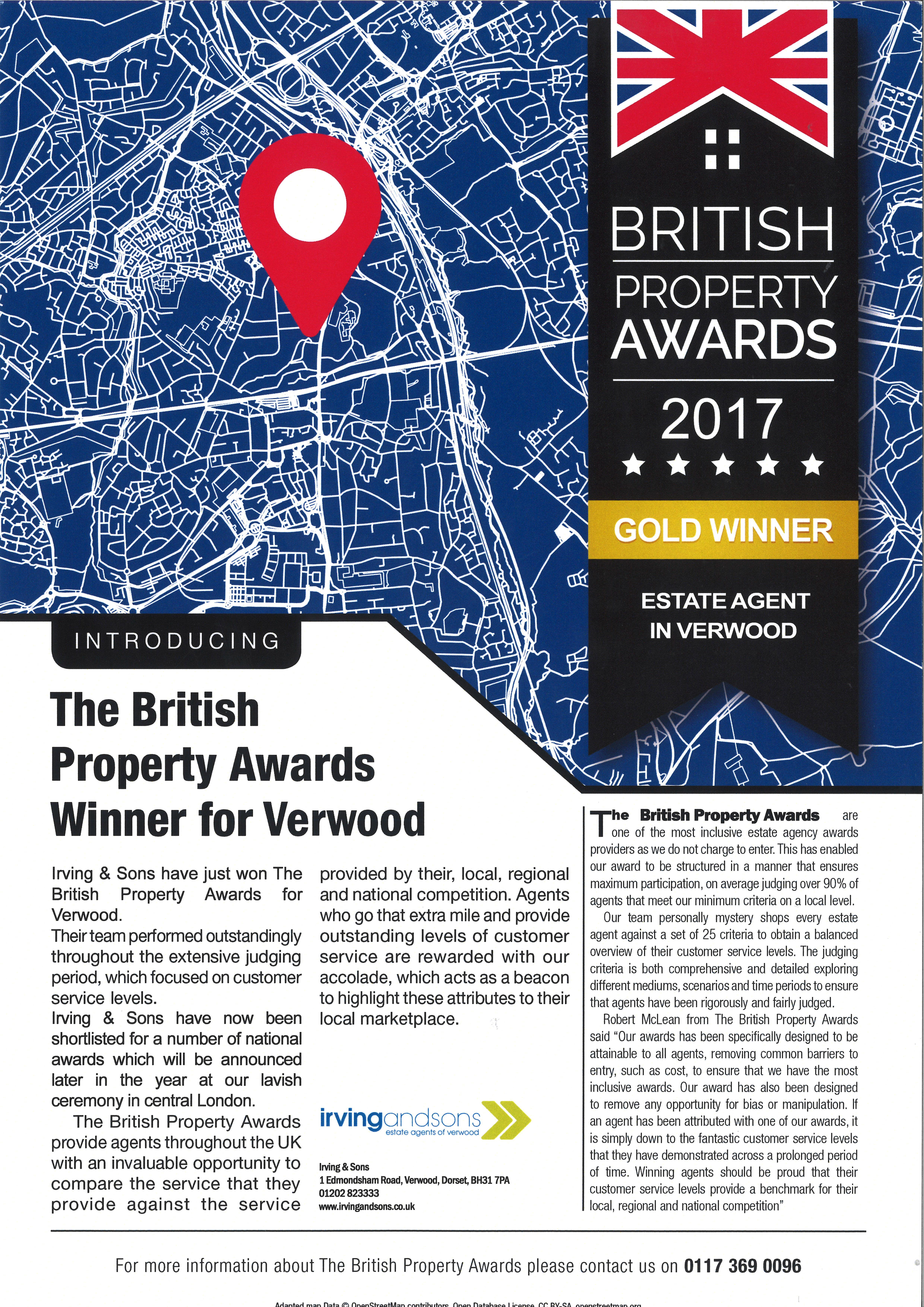 British Property Award Winners in Verwood